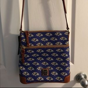 Dooney and Bourke ravens cross body bag